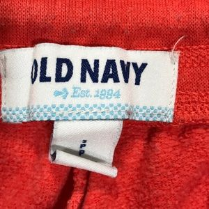 Old Navy Pants - Old Navy Orange Capri Sweat pants